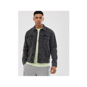 New ASOS Men's Gray Denim Jacket XS Jean